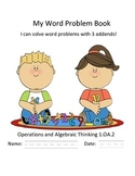 Word Problems with 3 Addends Booklet