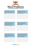 Word Problems with Decimals 1/2 - Solve the problems