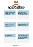 Word Problems with Decimals 3/4 - Solve the problems