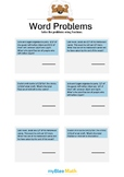 Word Problems with Fractions 1 - Solve the problems -6th grade