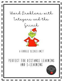 Word Problems with Integers and The Grinch