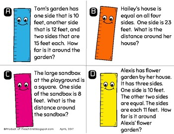 Word Problems with Length