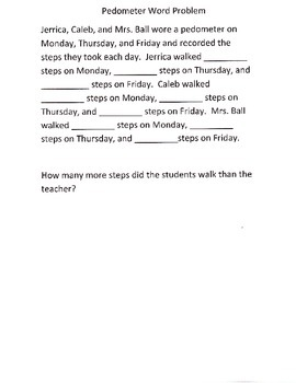 Word Problems with Multiple Steps Lesson Plan