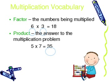 Word Problems with Multiplication