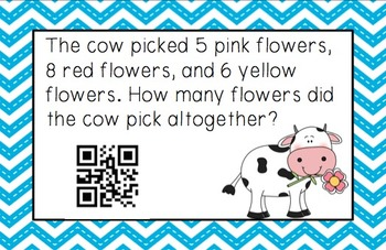 Word Problems with QR Codes!