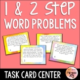 Word Problems with Regrouping Task Cards