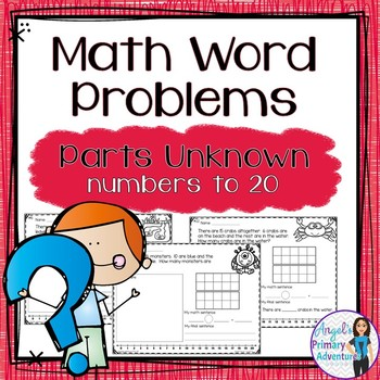 Word Problems with Unknowns
