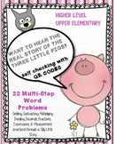 Fraction, Dec., Mixed Num. Story Problems with QR Codes -