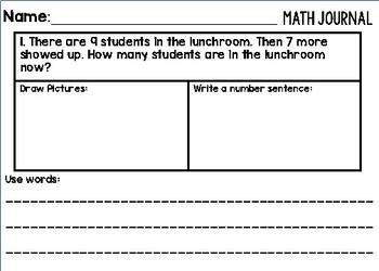 Word Problems_Addition and Subtraction within 20