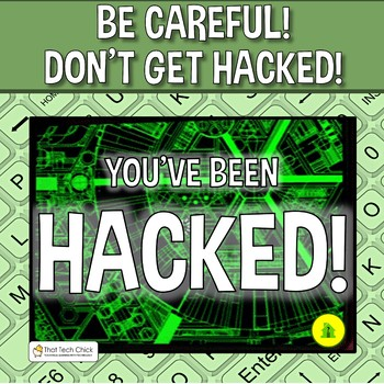 Word Processing Concepts Game - You've Been Hacked!