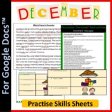 Word Processing for Google Docs™: December (Christmas)