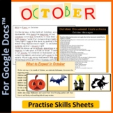 Word Processing for Google Docs™: October (Halloween)