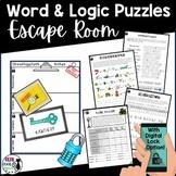Word Puzzle Escape Room Activity