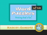 Word Puzzlers - Set #1