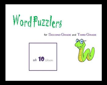 Word Puzzlers for Second Grade and Third Grade