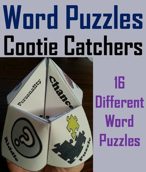 Brain Breaks: Word Puzzles and Teasers Activity (Scoot Game)