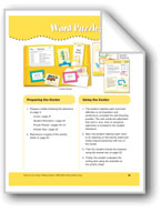 Word Puzzles: Adjectives ending in '-ious' (File Folder Center)