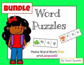 Word Puzzles Bundle (Vowels A, E, I, O, U)