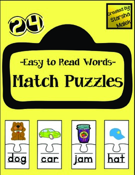 Word Puzzles- Easy (S. Malek)