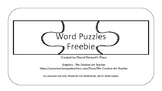 Word Puzzles Freebie