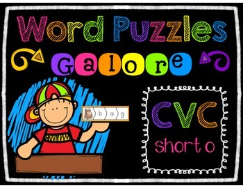 Word Puzzles Galore - SHORT O