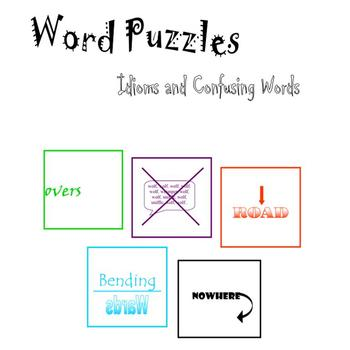 Word Puzzles:  Idioms and Confusing Words