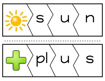 Word Puzzles (Short Vowel U Version)