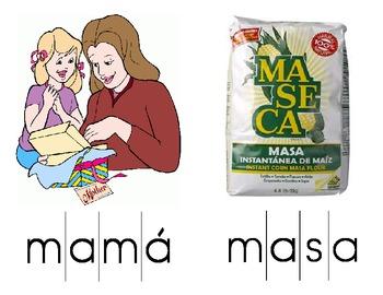 Word Puzzles (Syllables: Ma, Pa, Sa, La)