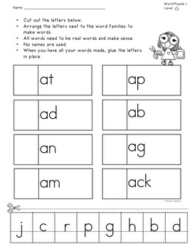Word Puzzles Using Onset and Rime