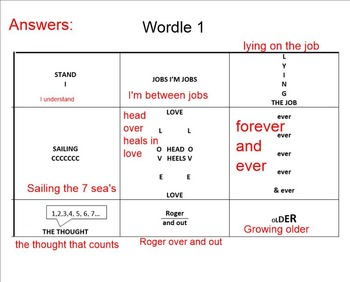 Word Puzzles for literacy