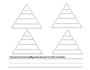 Word Pyramid - 4 Letter Words