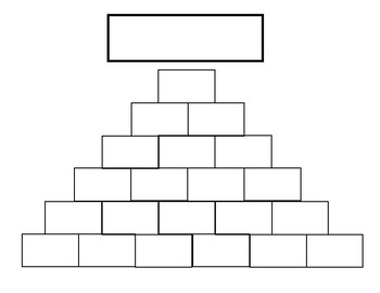 Word Pyramid Mat WORD WORK