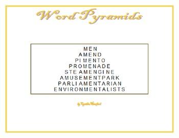 Word Pyramids
