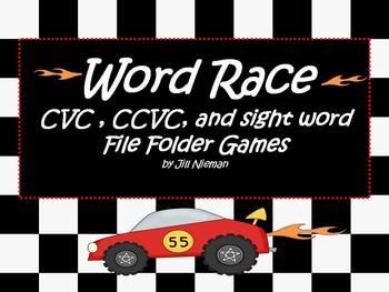 Word Work Games- cvc, ccvc, sight words