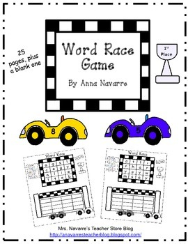 Word Race Game