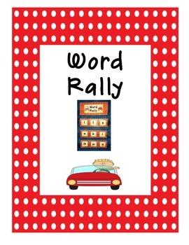 Word Work Game & Literacy Center