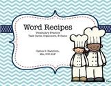 Word Recipes