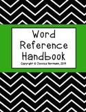 Word Reference Handbook (Writer's Notebook)
