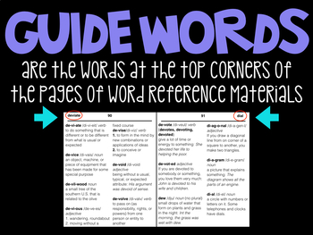 Word Reference Materials