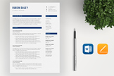 Teacher Resume  Template | Word Resume and Cover Letter