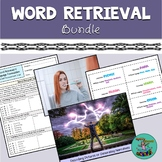 Word Retrieval & Language Formulation: Growing Bundle! Spe