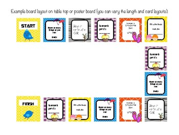 Word Retrieval Tabletop Game