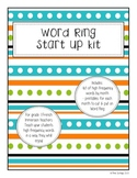 Word Ring Starter Kit - high frequency words (French)