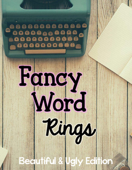 Word Rings: Beautiful & Ugly Edition