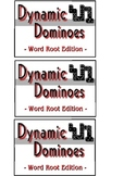 Word Root Dominoes