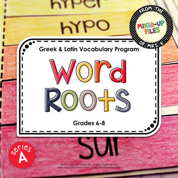 Word Roots Series A Bundle