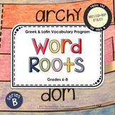 Word Roots Series B Bundle