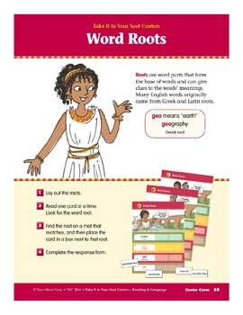 Word Roots (Take It to Your Seat Centers)