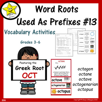 Word Roots Used as Prefixes #13 Greek Root OCT