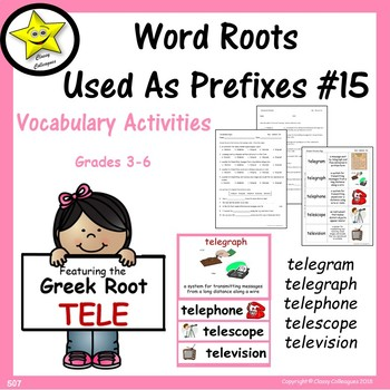 Word Roots Used as Prefixes #15 Greek Root TELE